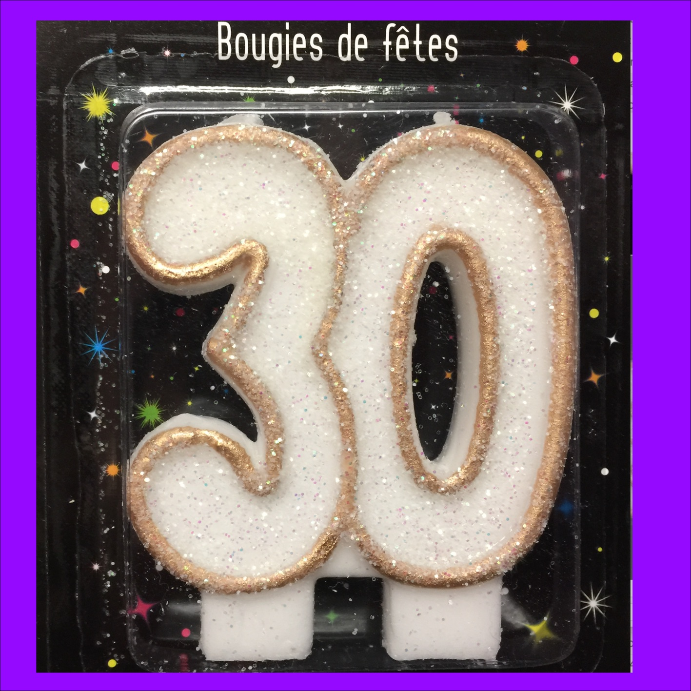 Bougie 30 ans