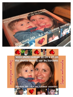 Photo montage gateaux 3D